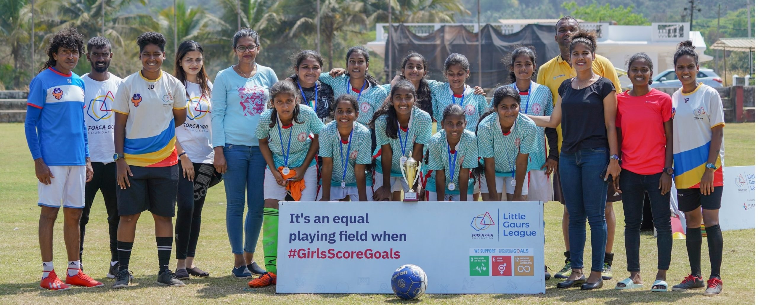 Girls Score Goals on International Women's Day