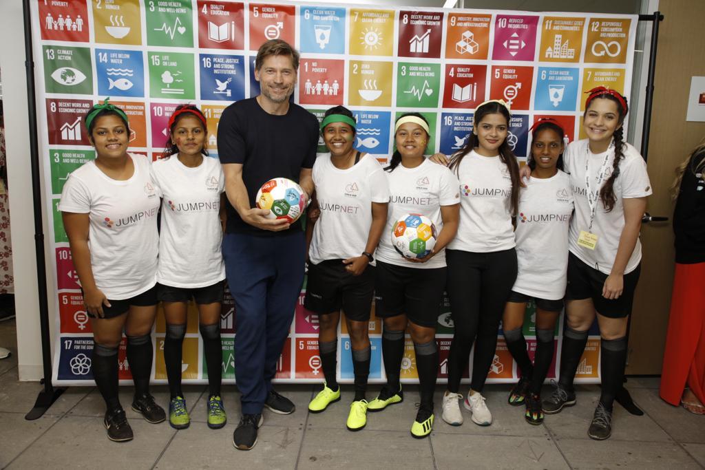 Global Goals World cup team